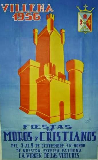 cartel moros y cristianos 1956