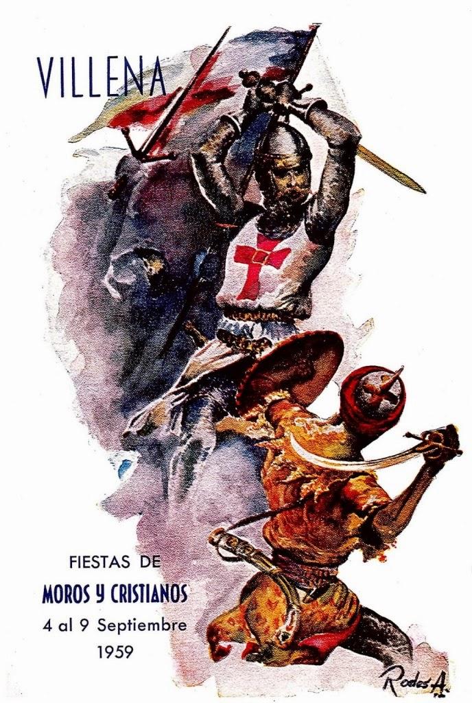 cartel moros y cristianos 1959