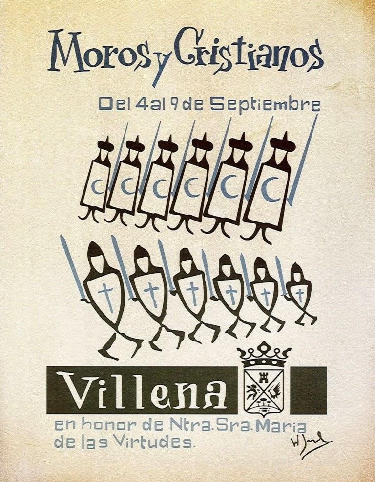 cartel moros y cristianos 1961