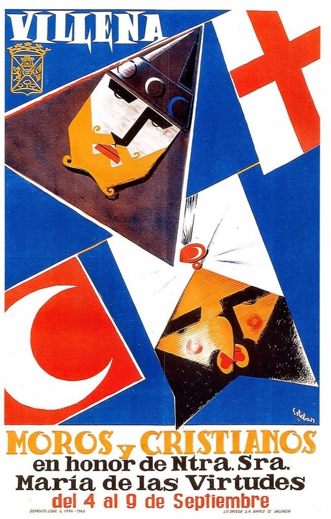 cartel moros y cristianos 1965