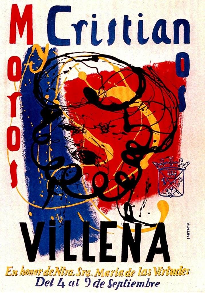 cartel moros y cristianos 1966