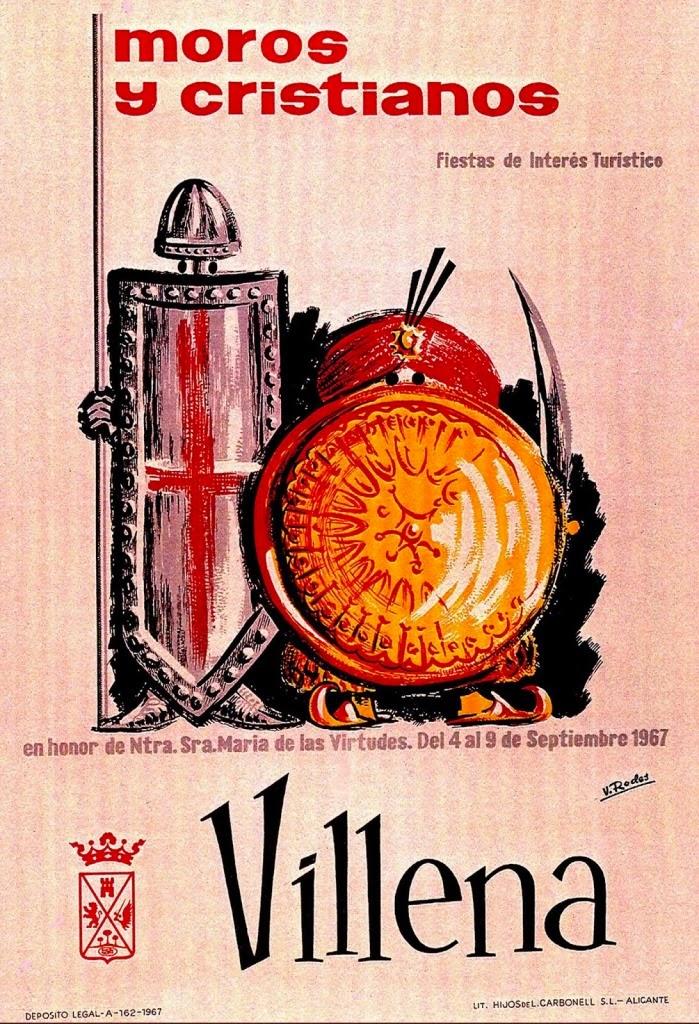 cartel moros y cristianos 1967