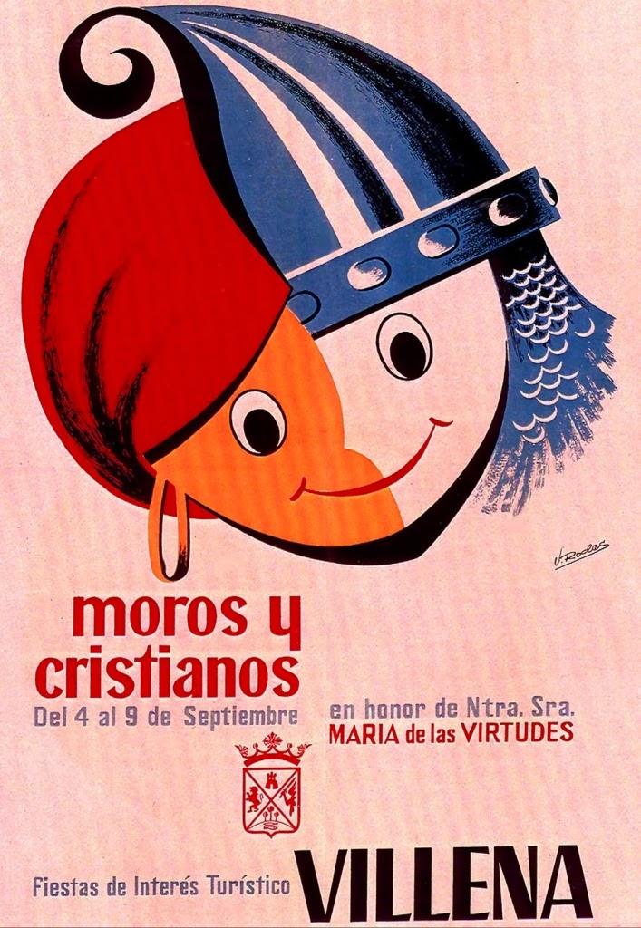 cartel moros y cristianos 1968