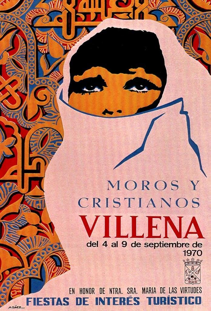 cartel moros y cristianos 1970
