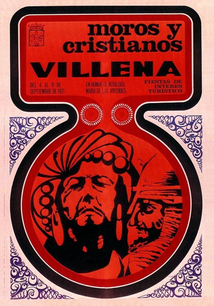 cartel moros y cristianos 1971