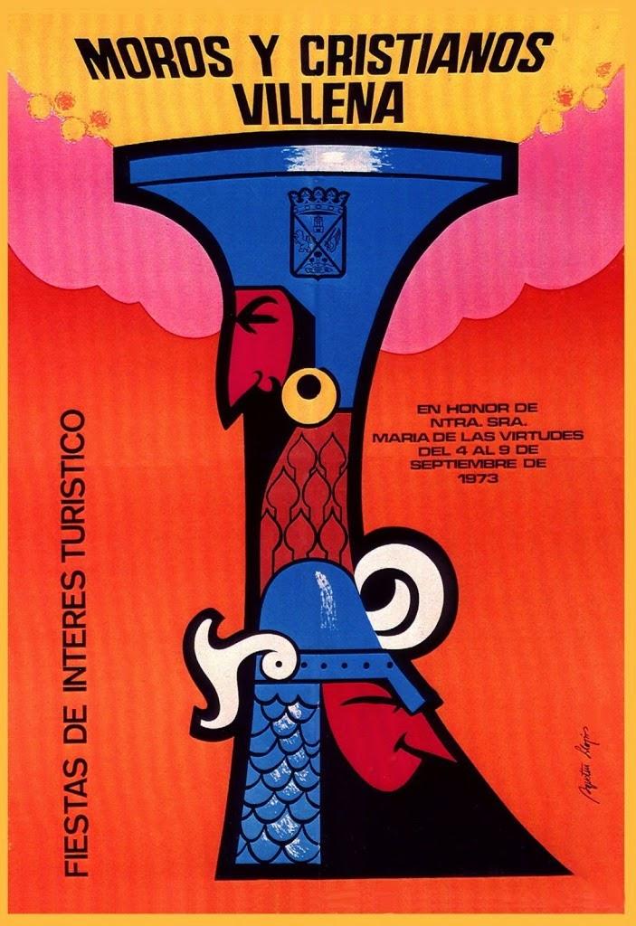 cartel moros y cristianos 1973