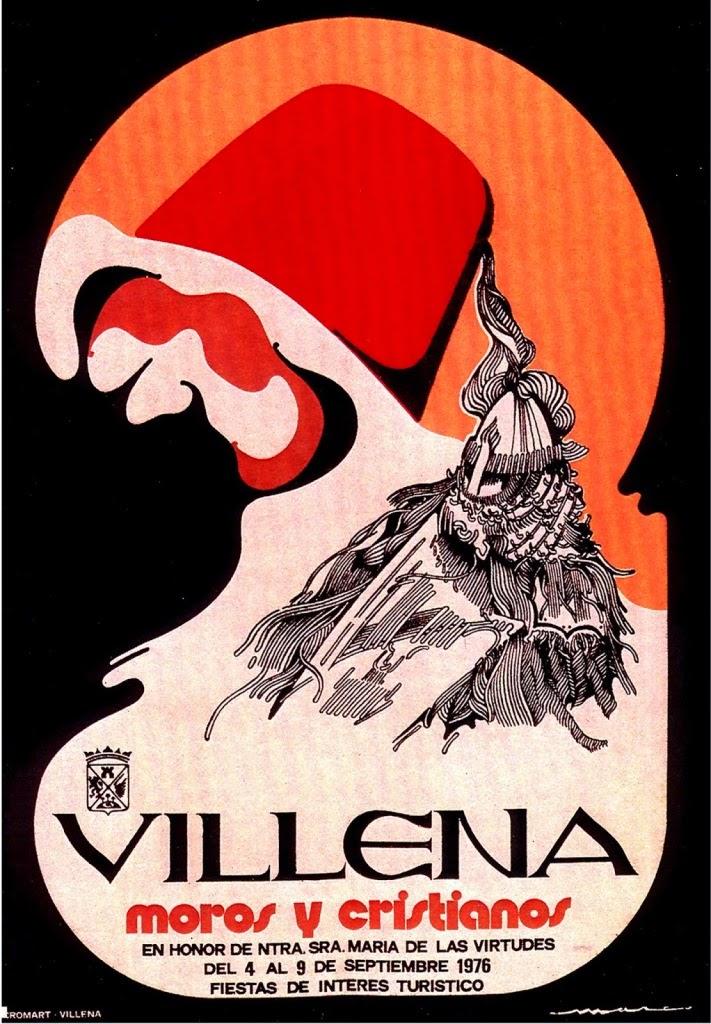 cartel moros y cristianos 1976