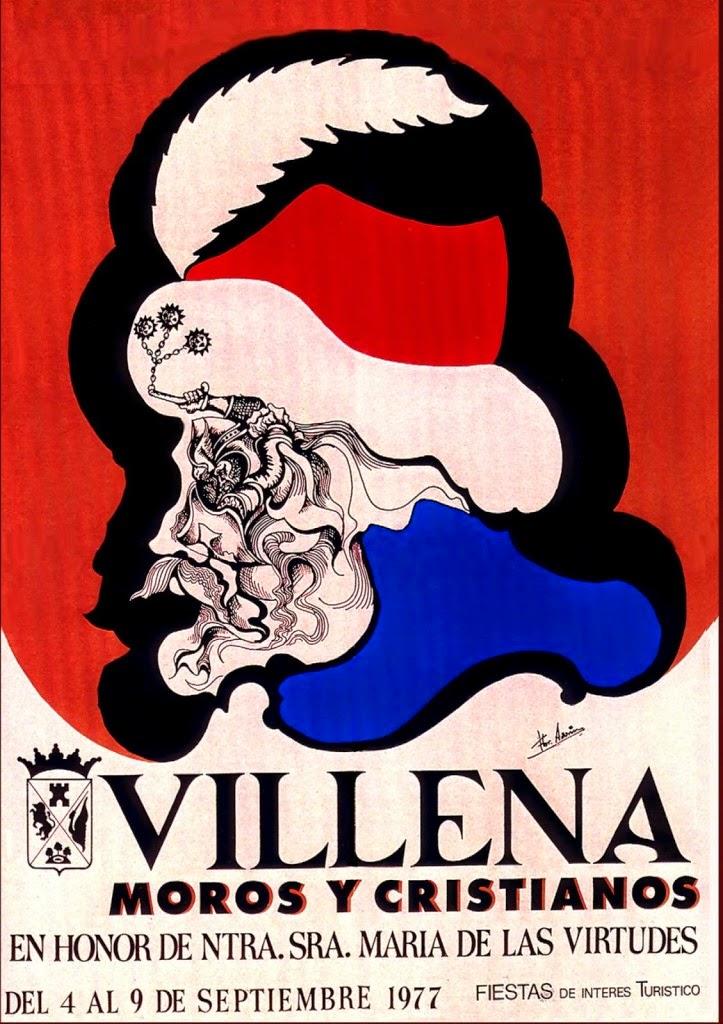 cartel moros y cristianos 1977