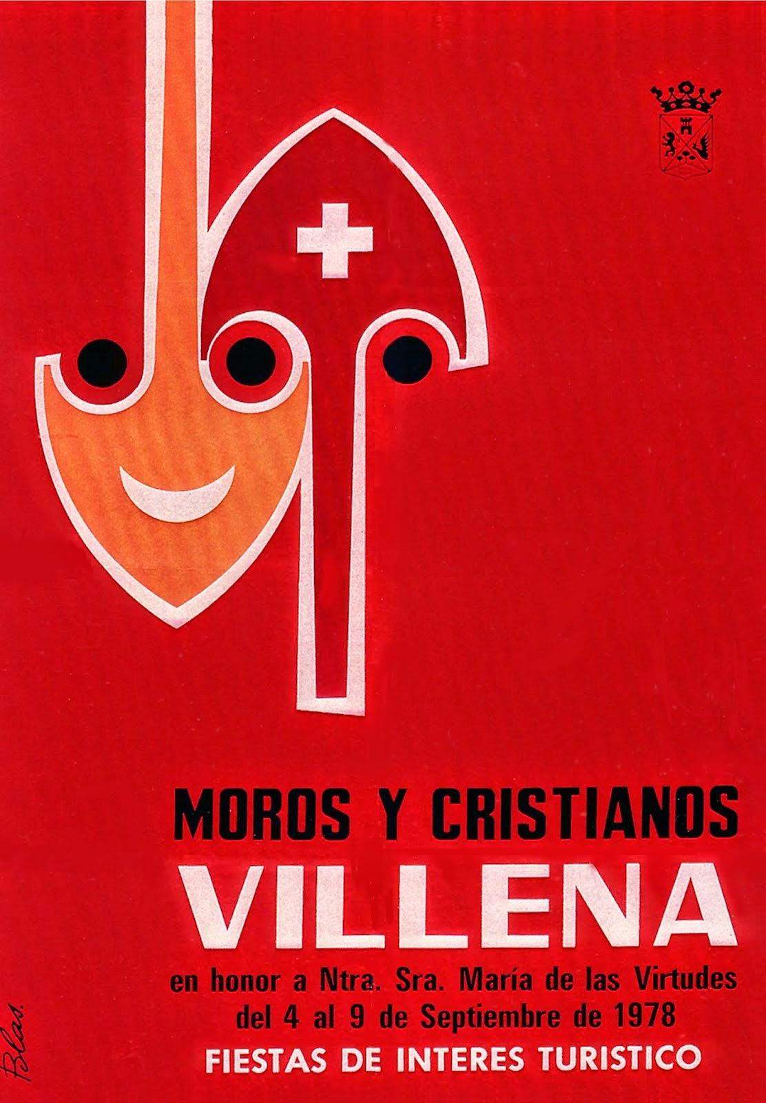 cartel moros y cristianos 1978