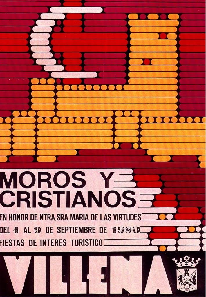 cartel moros y cristianos 1980
