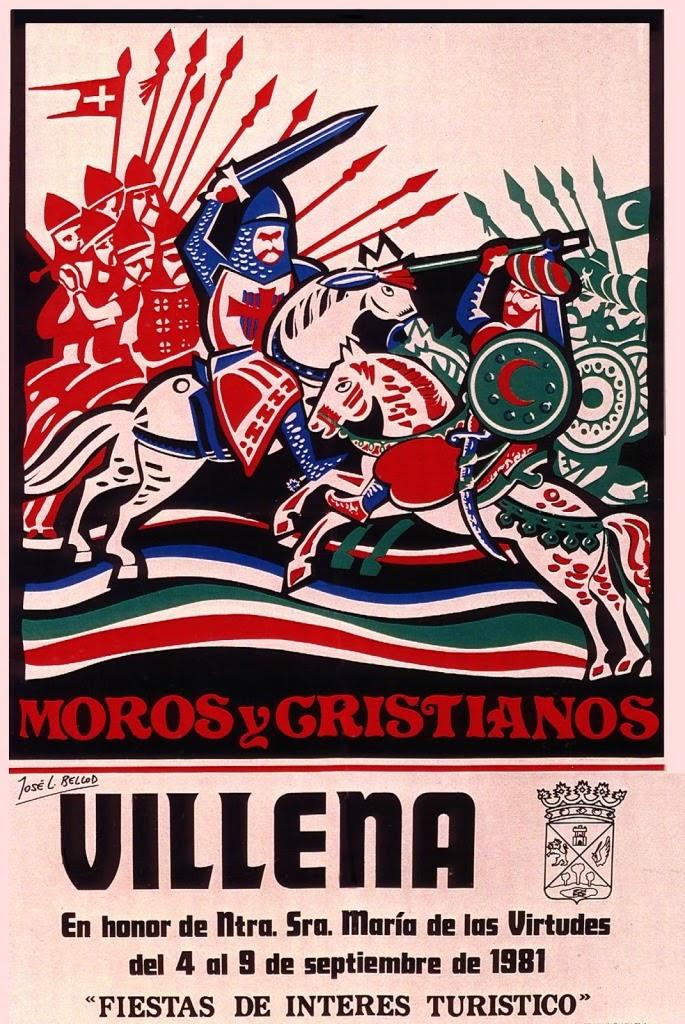 cartel moros y cristianos 1981