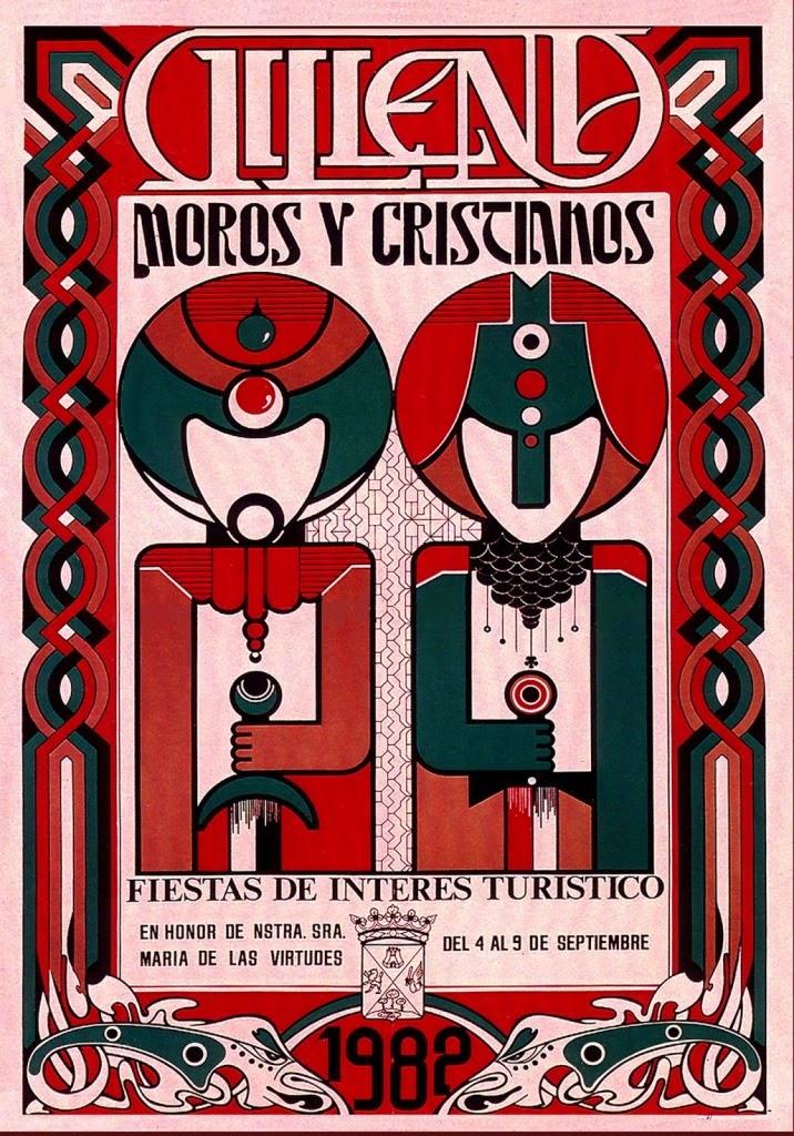 cartel moros y cristianos 1982