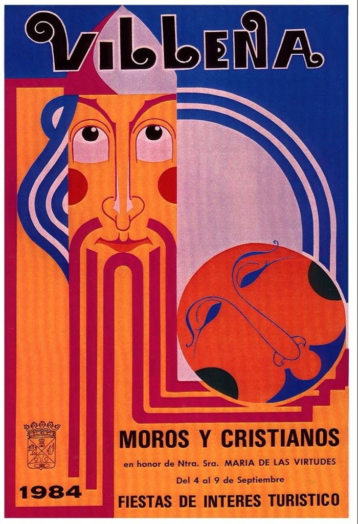 cartel moros y cristianos 1984