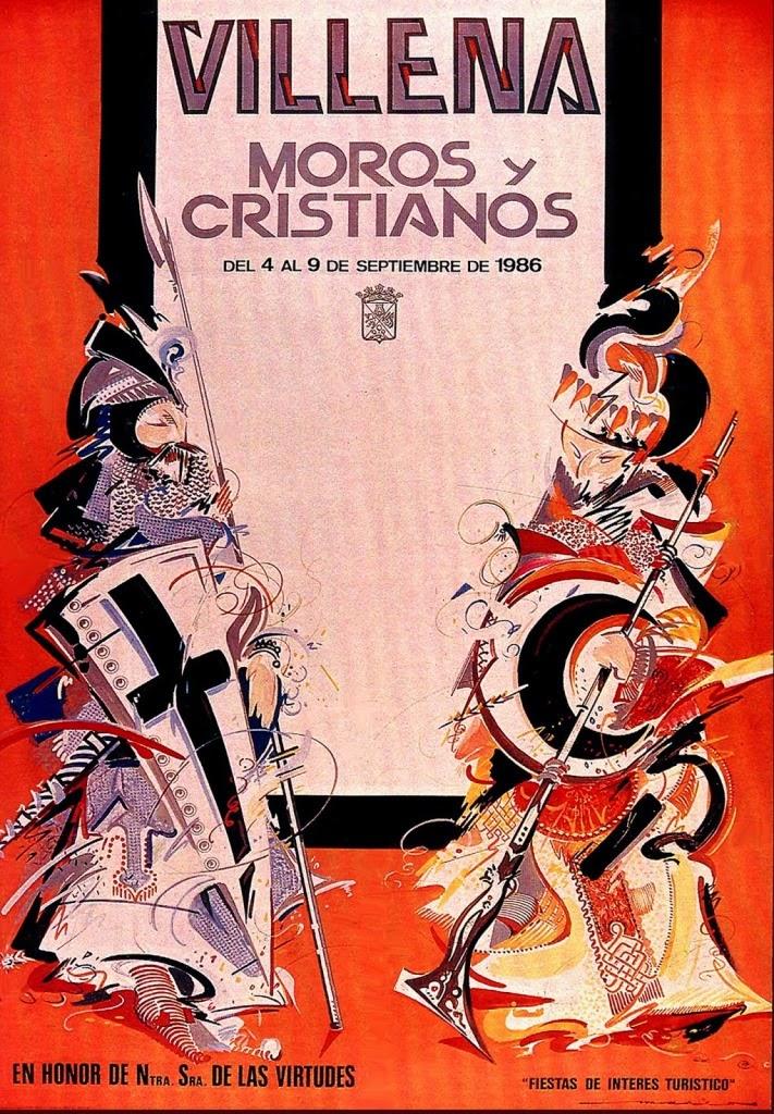 cartel moros y cristianos 1986