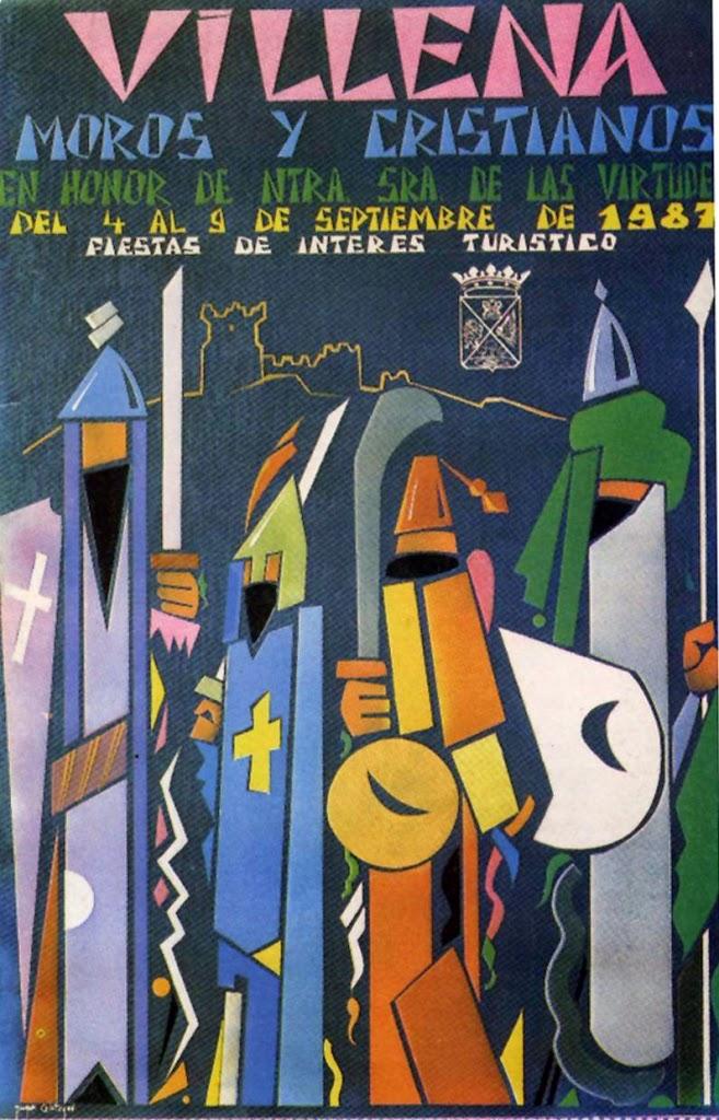 cartel moros y cristianos 1987