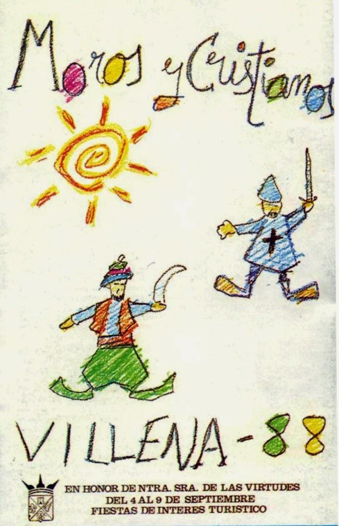 cartel moros y cristianos 1988