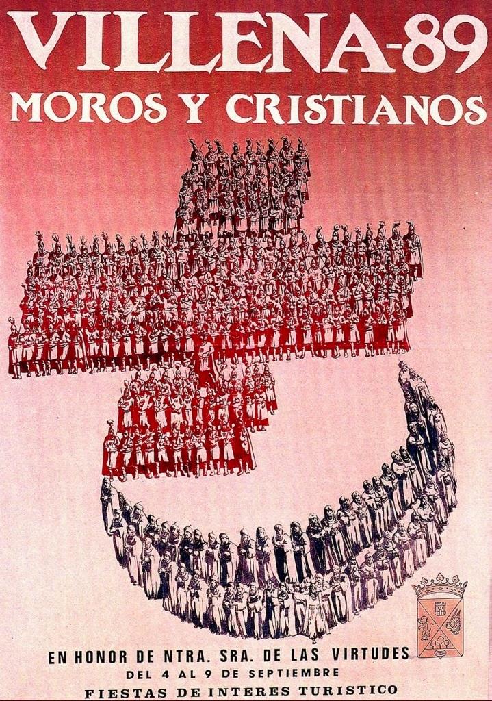 cartel moros y cristianos 1989