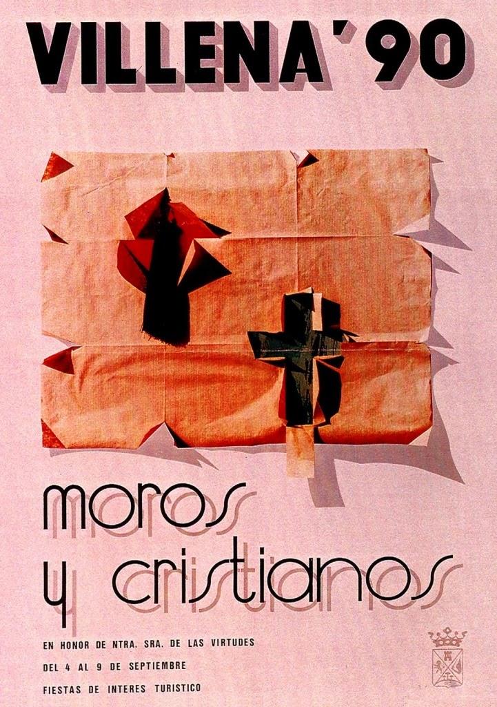 cartel moros y cristianos 1990