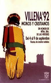 cartel moros y cristianos 1992