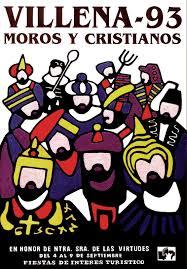 cartel moros y cristianos 1993