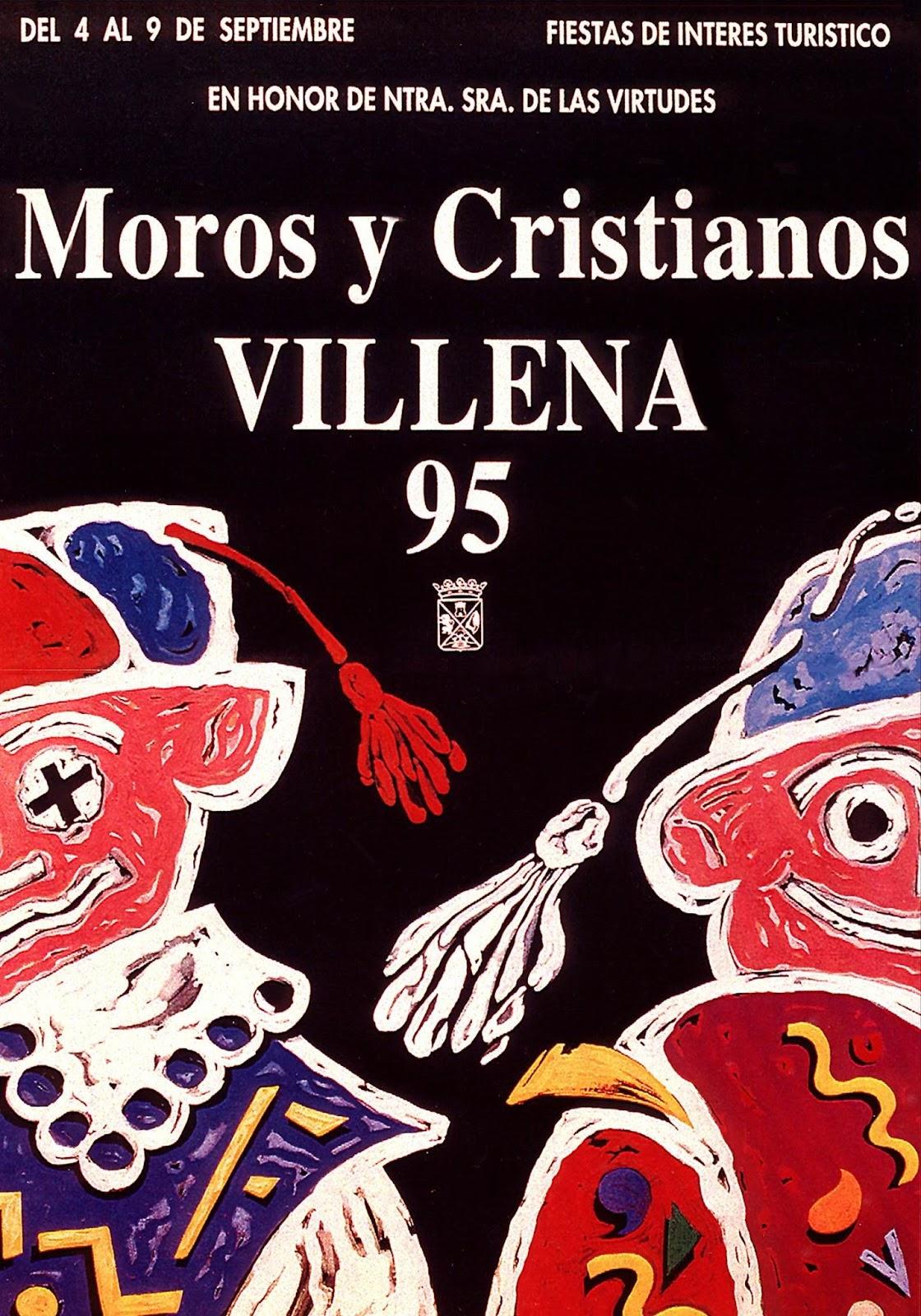 cartel moros y cristianos 1995