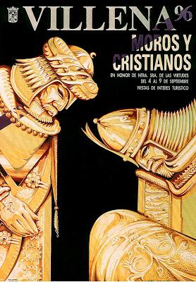 cartel moros y cristianos 1996