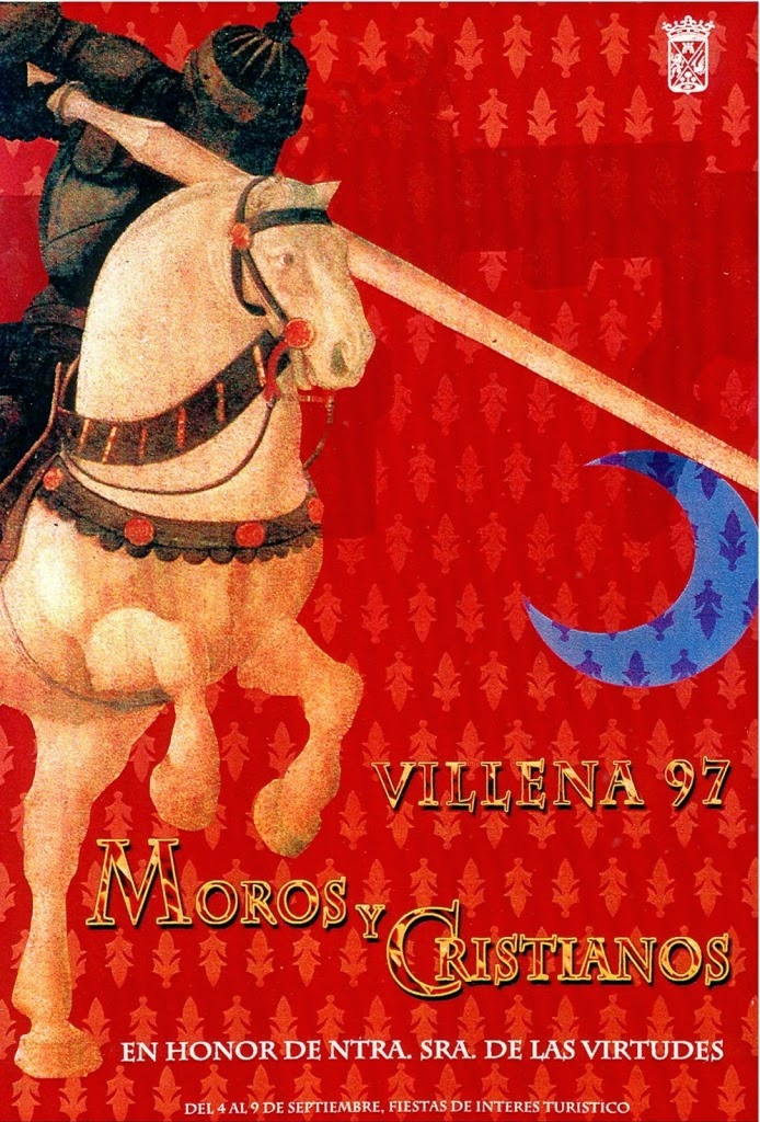 cartel moros y cristianos 1997