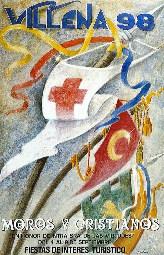 cartel moros y cristianos 1998