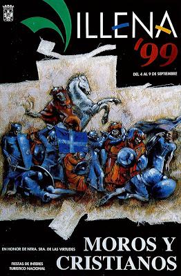 cartel moros y cristianos 1999