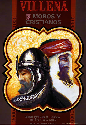 cartel moros y cristianos 2000