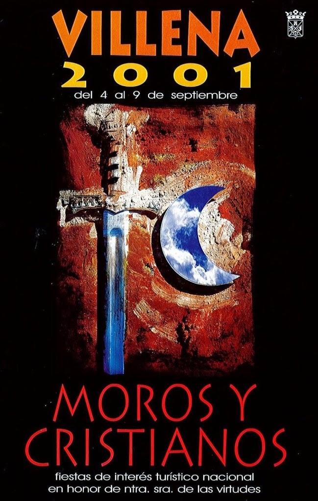 cartel moros y cristianos 2001