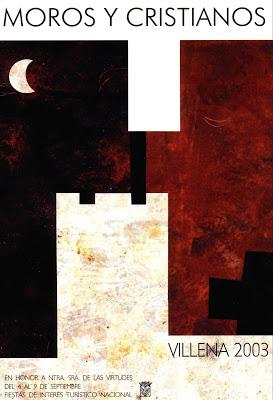 cartel moros y cristianos 2003