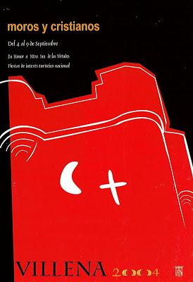 cartel moros y cristianos 2004