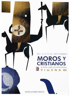 cartel moros y cristianos 2005
