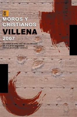 cartel moros y cristianos 2007