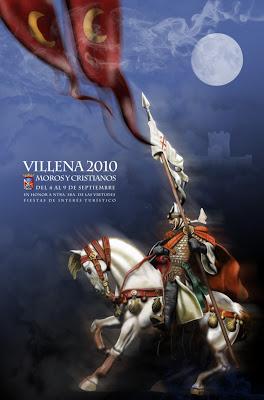 cartel moros y cristianos 2010