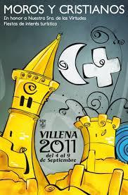 cartel moros y cristianos 2011