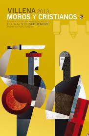 cartel moros y cristianos 2013