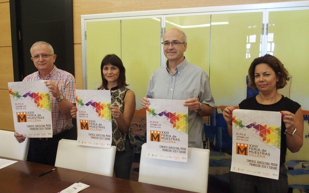 La Feria de Muestras Villena vuelve a superarse en número de expositores