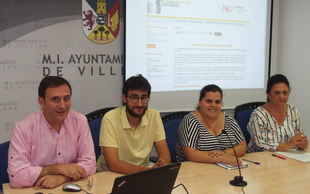 El archivo histórico de la Fundación José María Soler se pasa a la red
