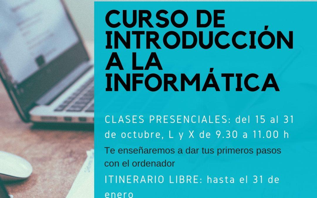 Nuevo curso de Introducción a la Informática en Aula Innova Formación