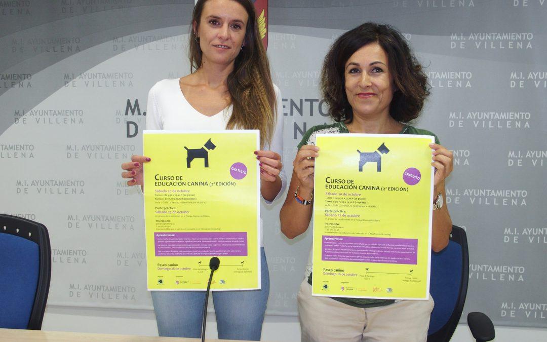 Nueva edición de los cursos gratuitos de educación canina