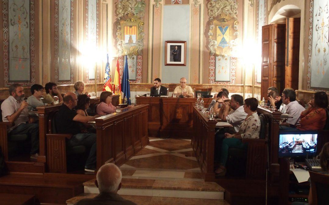 El Pleno Municipal aprueba eliminar las adhesiones para la concesión de la Arracada de Oro