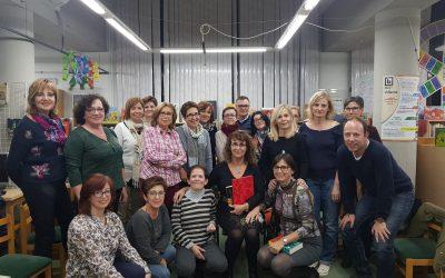 La escritora Chari Mondéjar visita nuestro Club de lectura