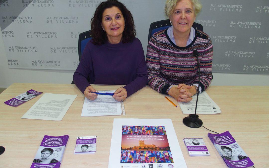 Villena se reivindica contra la violencia de género