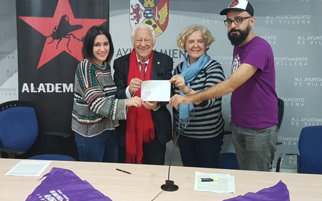 """La campaña """"Ni una más"""" recauda 1.800 euros para Mensajeros por la Paz"""