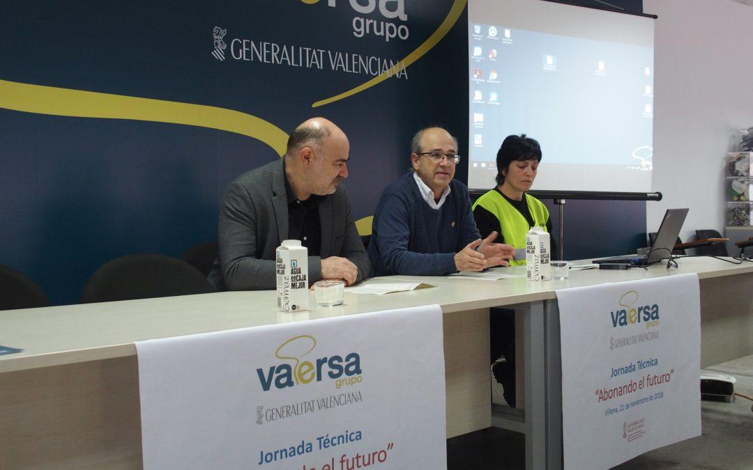 El Alcalde inaugura una jornada sobre recogida orgánica en la planta de Vaersa