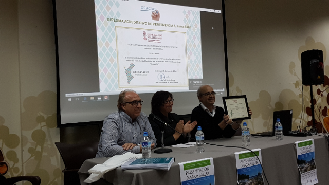 Villena adherida a la Red de Ciudades por la Salud: Xarxa Salud