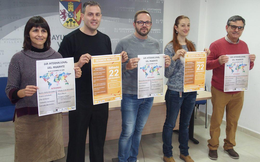 Villena conmemora el Día Internacional Migrante