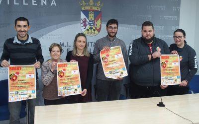 Partido benéfico de rugby en Villena por Cruz Roja